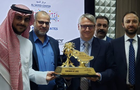 40 years in the field of contracting in Saudi Arabia Nov 23, 2019 – KIMMCO ISOVER Mr.Carlos & Mr.Kivanc
